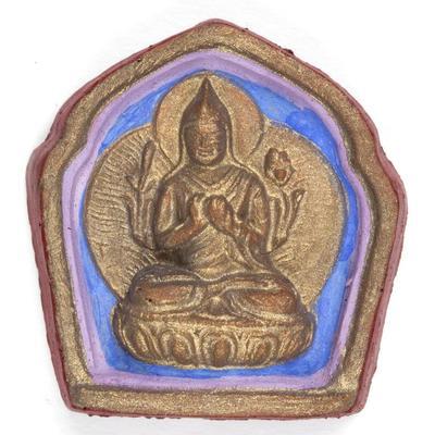 Tsongkhapa Votive Tablet