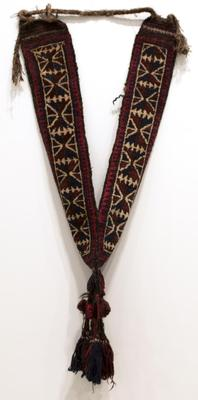 Camel Necklace with Stylized Leaf Design