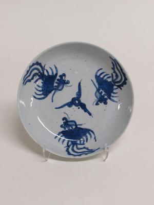 Dish with Triple Phoenix Motif