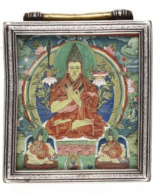 Tsongkhapa with Disciples