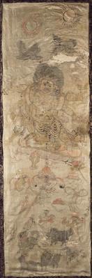Sutra Wrapper with Six-Armed Mahakala