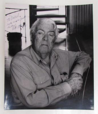 Portrait of the Artist- inscribed to David Kamansky