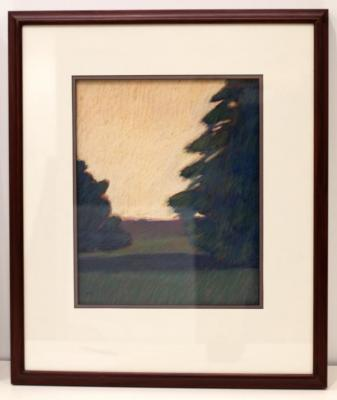 Untitled (trees in a field)