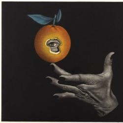 Untitled (Orange and Eye)