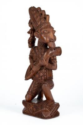 Shrine Figure of a Kneeling Flutist