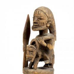 Shrine Figure of a Mounted Warrior (jagunjagun)