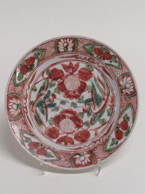 Swatow Dish with Floral Design