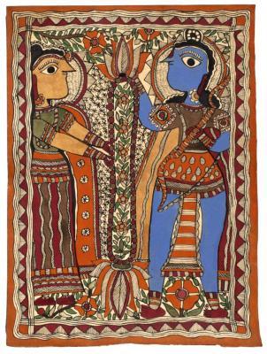 Rama and Sita Wedding Scene