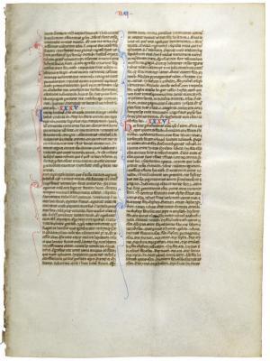 Manuscript Leaf: Genesis 34:23-37:33