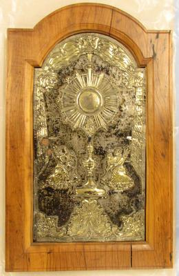 Front Panel for a Monstrance Cabinet