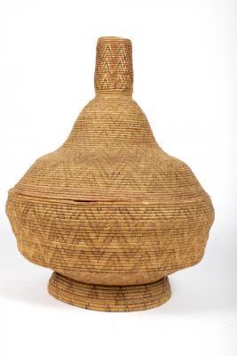 Covered Gift Offering Basket