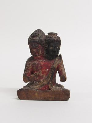 Two-Headed Guardian Figure