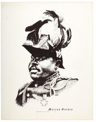 Portrait of Marcus Garvey
