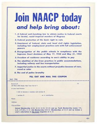 With Liberty and Justice for All: Join NAACP