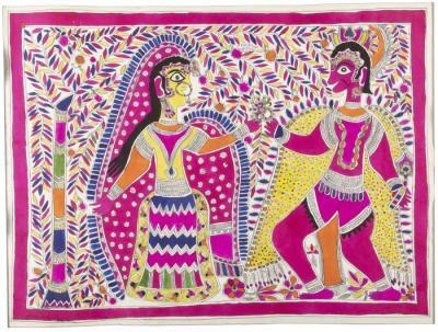 Hanuman Giving Rama's Ring to Sita