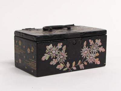 Box with Floral Motif