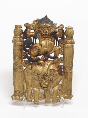 Temple Fragment: Symbols of Mahakala