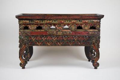 Altar Table with Makara-Head Legs