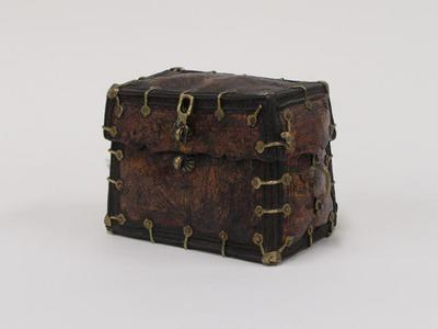 Small Chest with Painted Designs