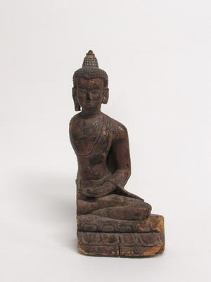 Fragment of a Seated Buddha