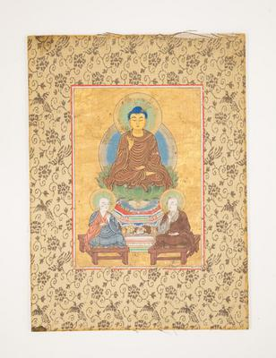 Amida Buddha with two Disciples