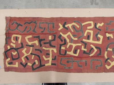 Cloth for a Ceremonial Skirt (N'gongo)