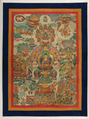 Scenes from the Life of Shakyamuni Buddha