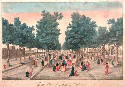View of St. James Park, London