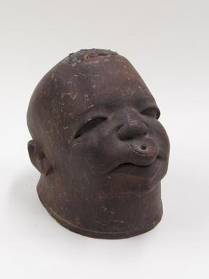 Helmet Mask with Lip Plug