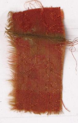 Fragment of Orange Cloth