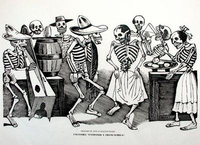 The Grand Dance Party of the Skeletons