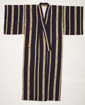 Kimono with Bamboo Design