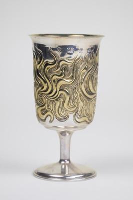 Goblet with Golden Fleece Design