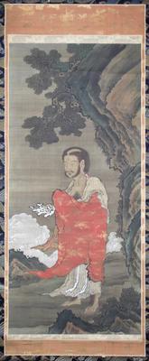 Shakyamuni Descending from the Mountains