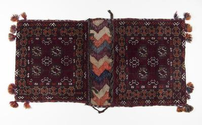 Double Saddle Bag with Tassels