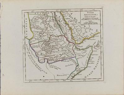 Nubie, Abissinie, et Cote d' Ajan