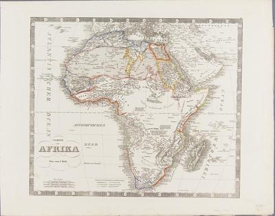 Carte von Afrika