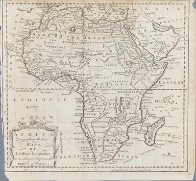Africa: Drawn from the Best Maps