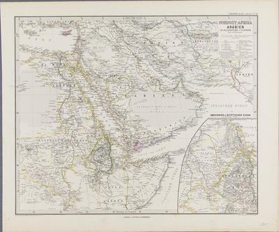 Nordost Afrika und Arabien (revised)