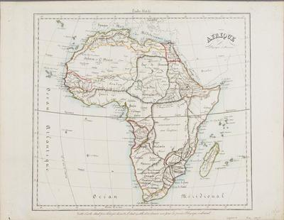 Afrique, Physique et Division