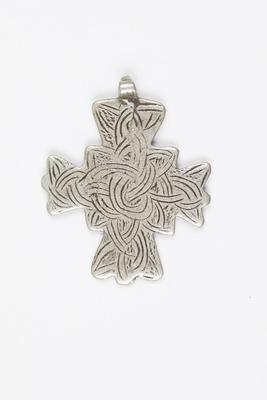 Pendant Cross with Knot Design