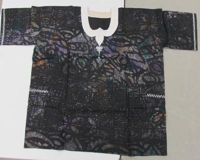 Adire Cloth Man's Shirt