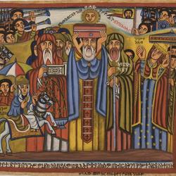 King Menelik Bringing the Zion Tabot to Axum