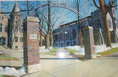 Hope College Archway