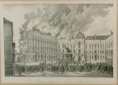 The  October 31, 1848 Burning of Josefplatz