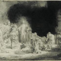 Christ Healing the Sick (The Hundred Guilder Print)