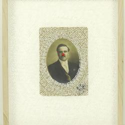 Portrait of a Man with a Clown Nose