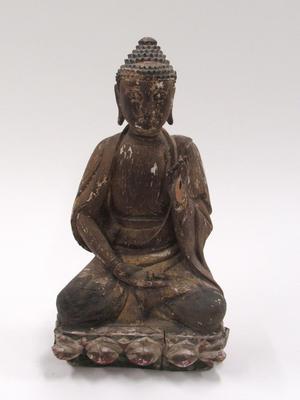 Seated Buddha with Teaching Mudra
