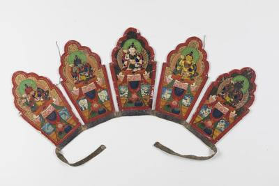 Tantric Crown with Buddha Images